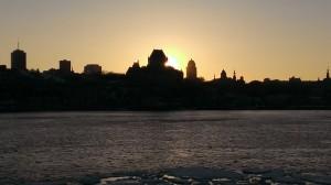 Vue panoramique de la ville de Québec